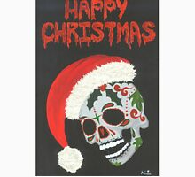 Sugar Skull- Happy Christmas Unisex T-Shirt