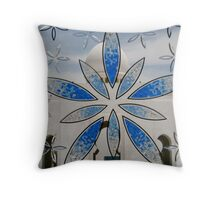 Stained Glass Mosque Throw Pillow