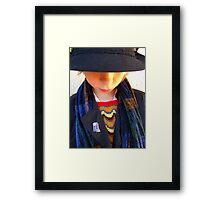 Eat your heart out Tom Baker Framed Print