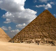 Pyramids of Giza by Citisurfer