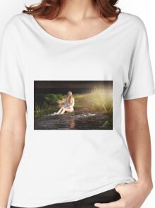Nude Women Sexy - Sensual Women's Relaxed Fit T-Shirt