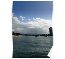Broadwater Gold Coast Aust., Poster