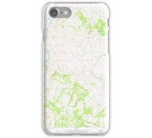 USGS Topo Map Washington State WA Keystone 241769 1980 24000 iPhone Case/Skin