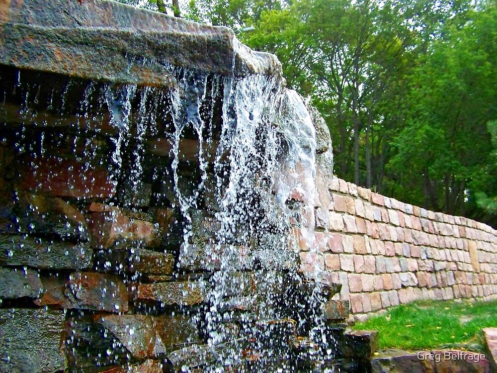 Trickling Waters by Greg Belfrage