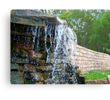 Trickling Waters Metal Print