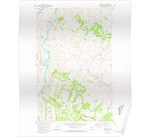 USGS Topo Map Washington State WA Keystone 241769 1980 24000 Poster