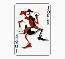 Joker Card Print Unisex T-Shirt