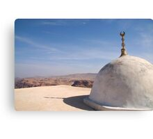 Jebel Haroun - Aaron's Tomb Canvas Print