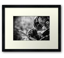 One Man Army Framed Print