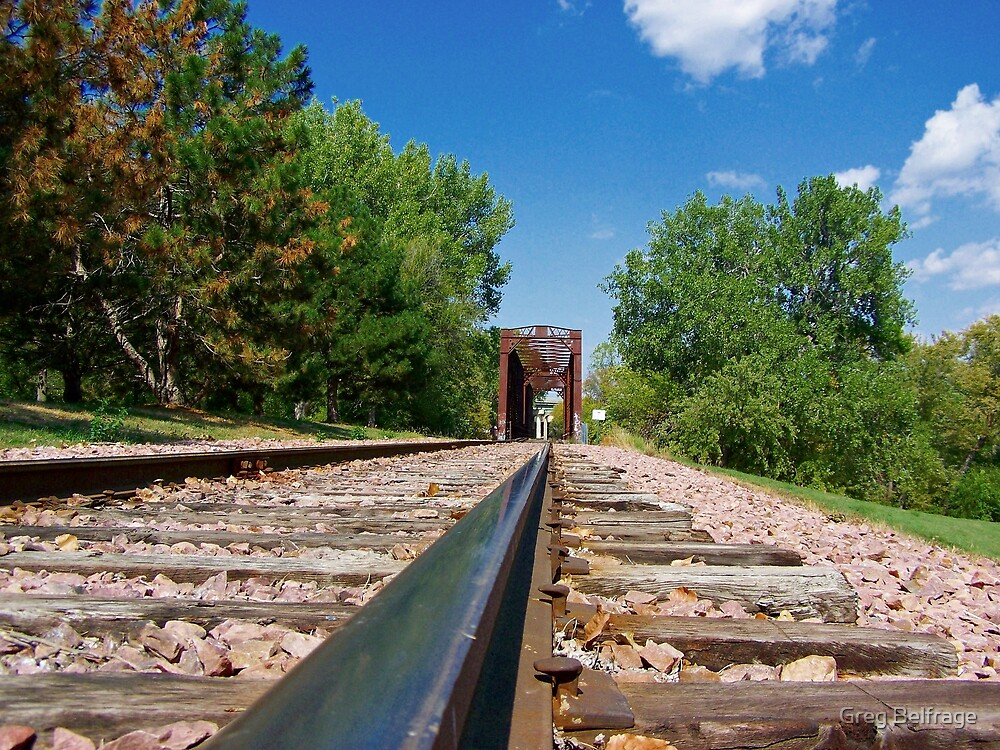Lonesome Rails by Greg Belfrage