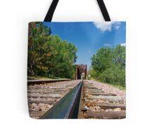 Lonesome Rails Tote Bag