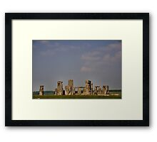 Stone Henge #2 Framed Print