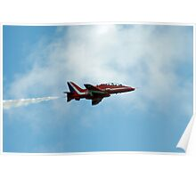 Red Arrows Air Show Poster