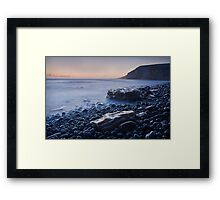 Dunraven Bay 010 Framed Print