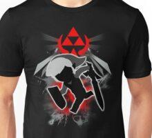 Super Smash Bros. Black Toon Link Silhouette Unisex T-Shirt