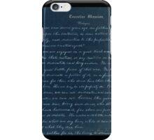 Gettysburg address iPhone Case/Skin