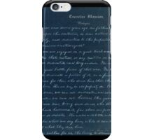 Gettysburg address iPhone Case/Skin