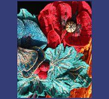 Poppy Machine Embroidery no.4 T-Shirt