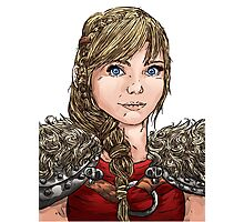 Astrid (HTTYD) Photographic Print