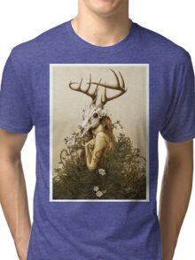 The Deer Secret Tri-blend T-Shirt