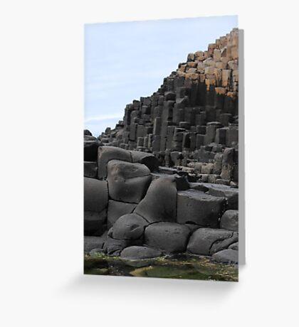 Giants Causeway, Ireland Greeting Card