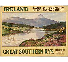 Vintage poster - Ireland Photographic Print