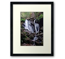 Waterfall (Burn O Vat, Aberdeenshire) Framed Print