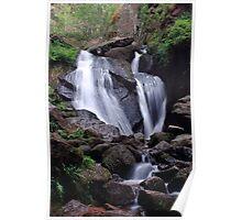 Waterfall (Burn O Vat, Aberdeenshire) Poster