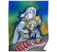 Carnivorous Chef Poster