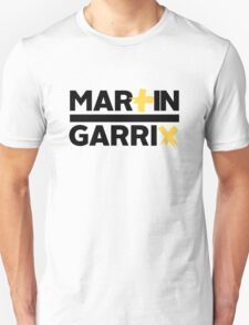 Martin Garrix Yellow - White T-Shirt