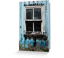 Boat in the Window Greeting Card