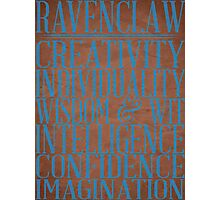 Ravenclaw (Harry Potter) Photographic Print