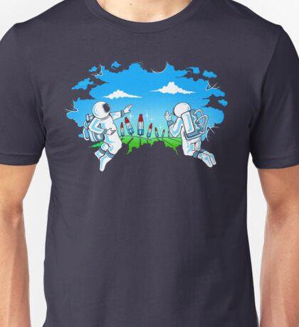Unexpected Atmosphere Unisex T-Shirt