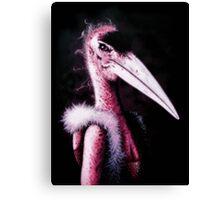 Stork Lady Canvas Print