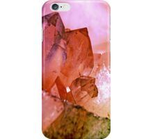 Raw Quartz Crystals iPhone Case/Skin