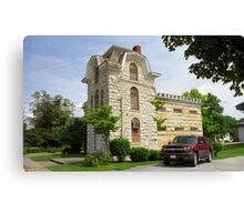 Route 66 - Macoupin County Jail Canvas Print