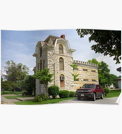 Route 66 - Macoupin County Jail Poster