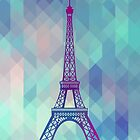 Eiffel Tower Paris by MartaOlgaKlara