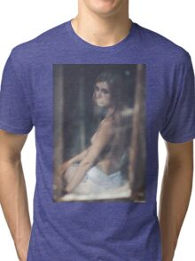 Nude Women Sexy - Sensual - Tattoo Tri-blend T-Shirt
