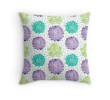 The Succulents Throw Pillow