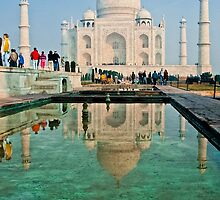 Taj Mahal by Ravi Chandra