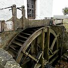 A working water mill by Pieta Pieterse