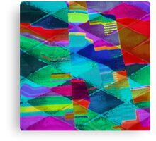 Colorful Splash Canvas Print