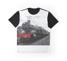Vintage steam engine railway train Graphic T-Shirt