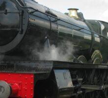 Vintage steam engine railway train Sticker