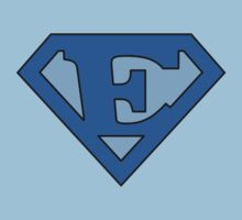 Super Blue E Logo by adamcampen