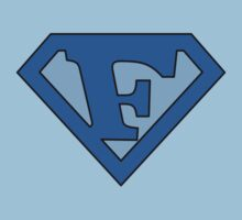 Super Blue F Logo by adamcampen