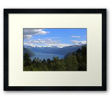 The Valley in Geiranger in Norway Framed Print