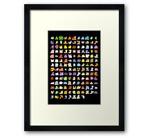 Gotta catch a bunch of 'em Framed Print
