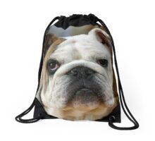 American Bulldog Drawstring Bag